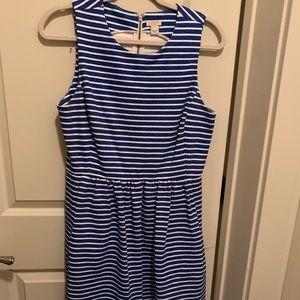 JCrew Fit and Flare Dress - Size M